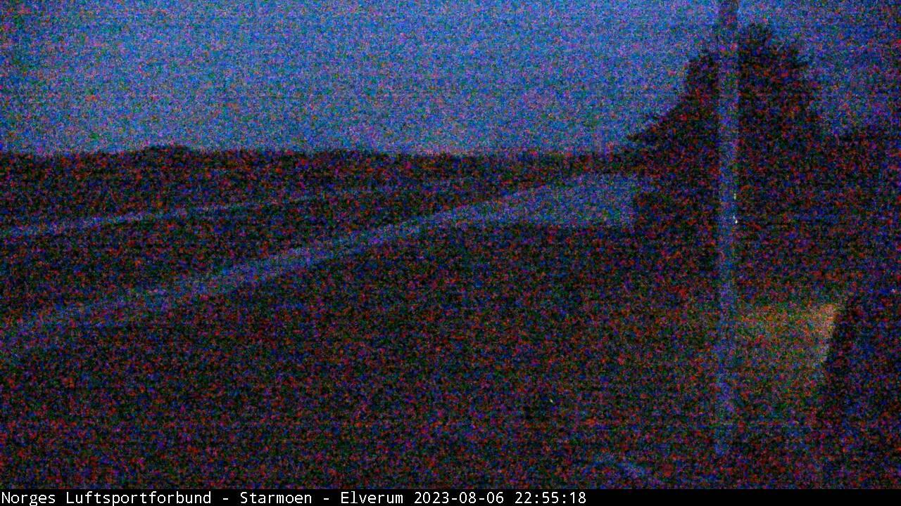 Webcam Starmoen flyplass, Elverum, Hedmark, Norwegen